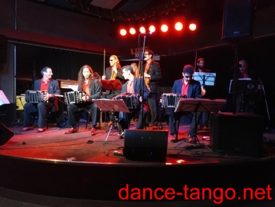 "Milonga in the Nachtkantine with live music ""La Juan D'Arienzo"" from Argentina @ Munich_1"