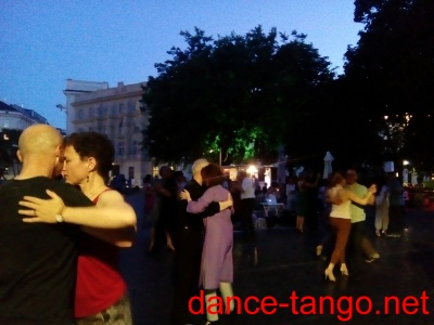 Open Air Milonga in  Karlskirche @Wien_3