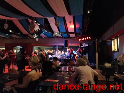 "Milonga in the Nachtkantine with live music ""La Juan D'Arienzo"" from Argentina @ Munich_4"